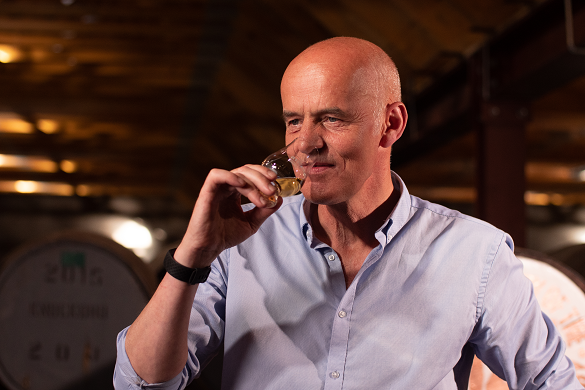 Nope, no tequila in there: Gordon Bruce, distillery manager at Knockdhu