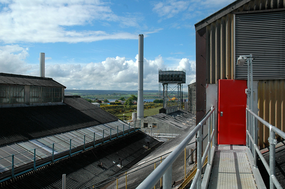 Whyte & Mackay's Invergordon grain distillery can produce over 30 million litres of pure alcohol per year
