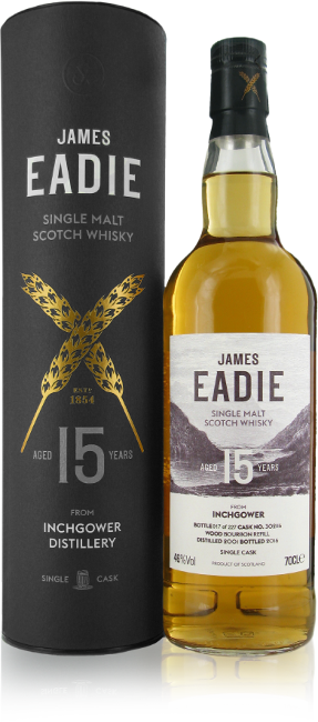 James Eadie whisky bottle