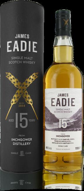 James Eadie whisky bottle