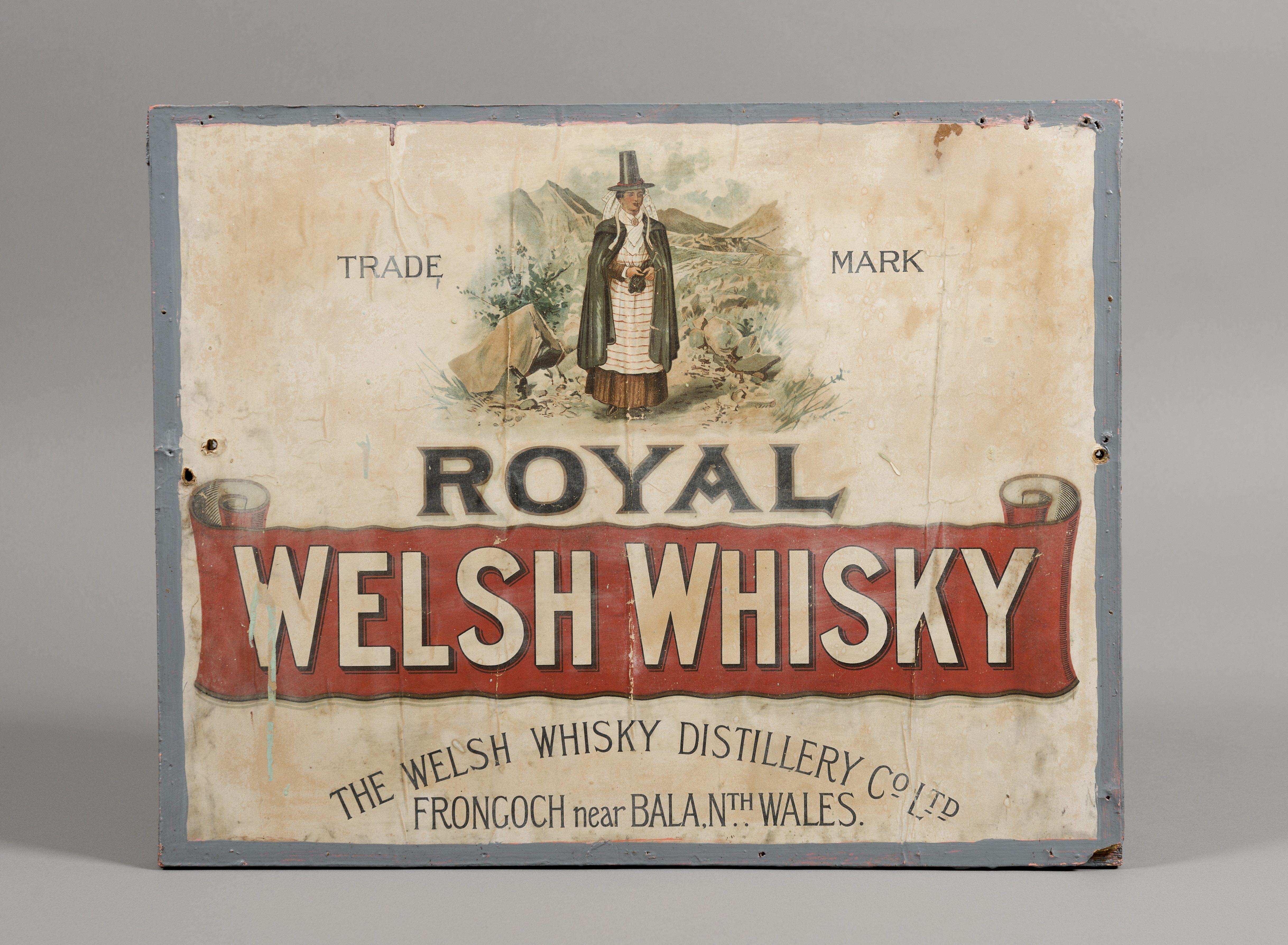 Royal Welsh advertisement