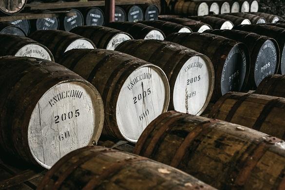Sherry, bourbon, port, rum, madeira, sauternes, tequila...?