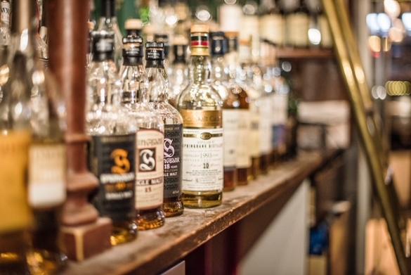 Akkurat whisky bar, Stockholm