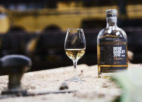 Bruichladdich's bere whisky