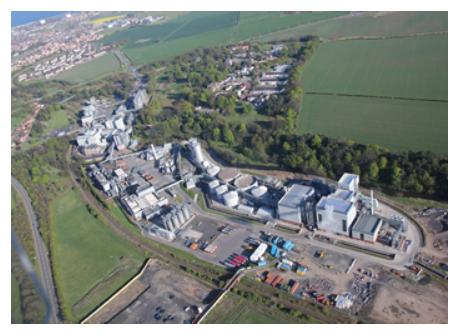 Cameronbridge, Diageo's largest grain whisky distillery in Scotland