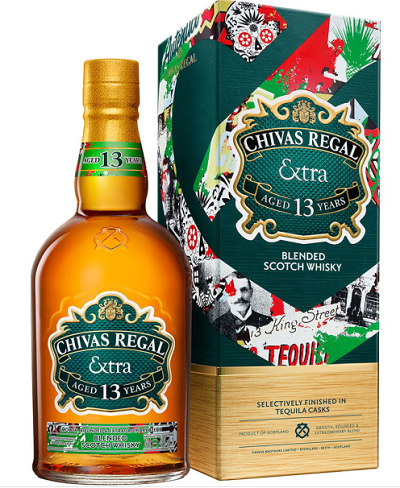 Chivas Extra: Now with Tequila!