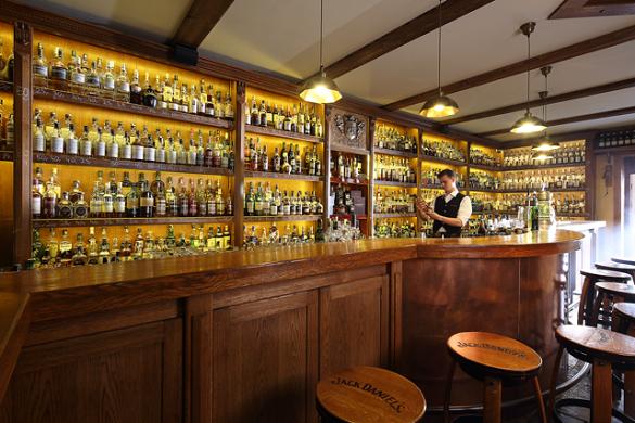 Na zdrowie! Dom Whisky in Poland's Baltic resort town of Jastrzebia Gora