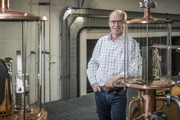 Simon Erlanger, MD of Isle of Harris distillery