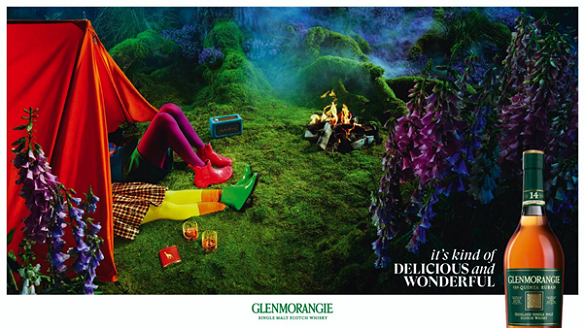 Glenmorangie's 'Wonderful and delicious' campaign