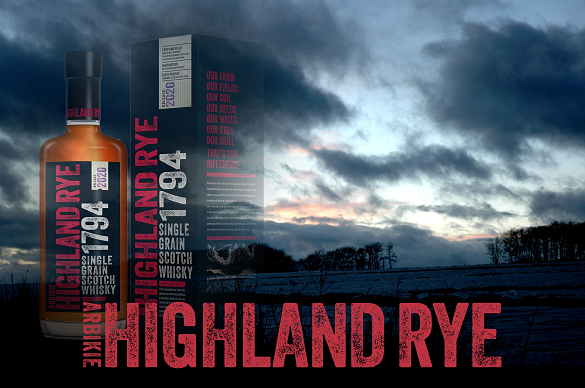 Arbikie's Highland Rye escaped US tariffs and did well in 2020