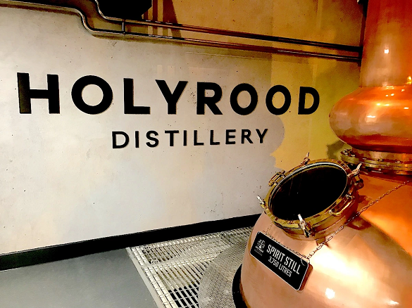 Edinburgh's Holyrood Distillery: Closed for the duration