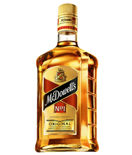 Just like it says on the label, McDowell's No.1 is India's biggest-selling whisky, from Diageo subsidiary United Spirits Limited (USL)