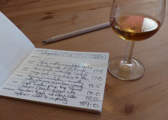 Whisky reviewing: More to it than tortuous strings of over-wrought adjectives plus random sexist metaphors