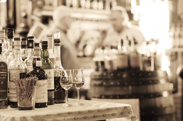 Big Market whisky shop in Berlin