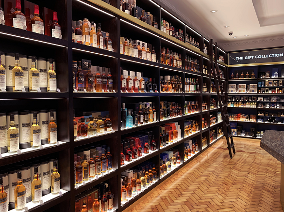 How to make an old man very happy: The Whisky Shop, Piccadilly