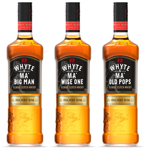 Whyte & Mackay's Father's Day trio for 2021