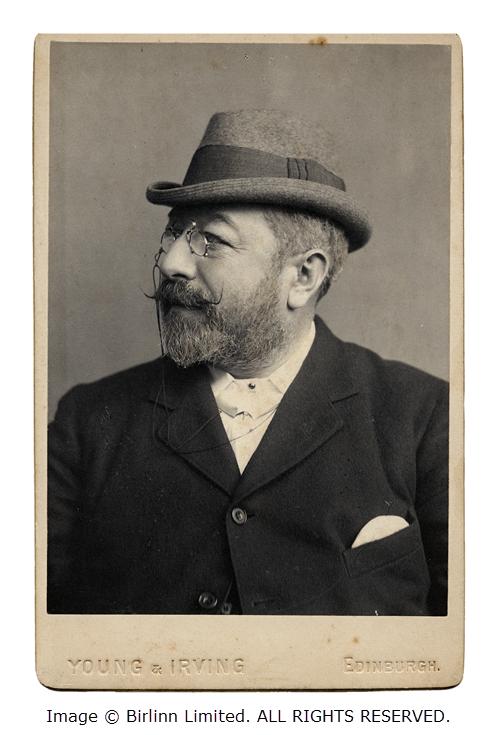 Portrait of Alfred Barnard